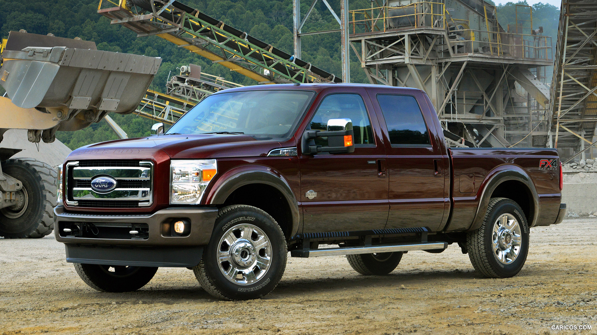 Download Latest Hd Wallpapers Of Vehicles Ford F 250 Super Duty King Ranch
